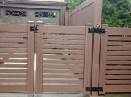 4ft High Breezewood Gates