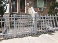 gray alum walk gate